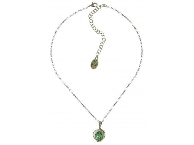 Sparkle Twist - zelená Náhrdelníky - 5450543169569