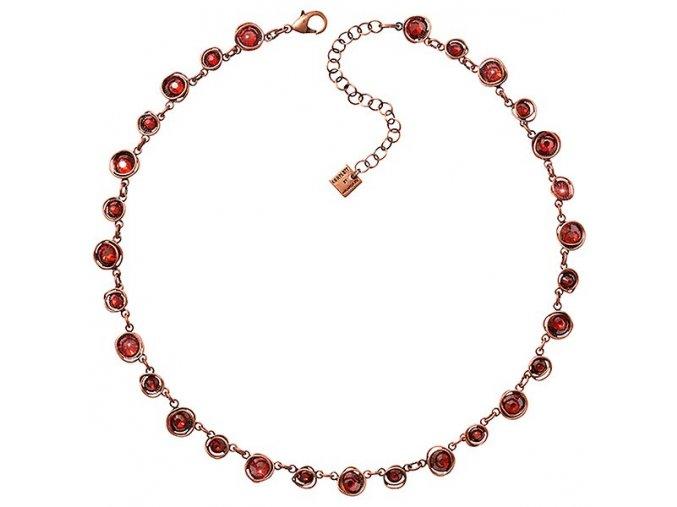 Sparkle Twist - červená/oranžová Náhrdelníky - 5450543251448