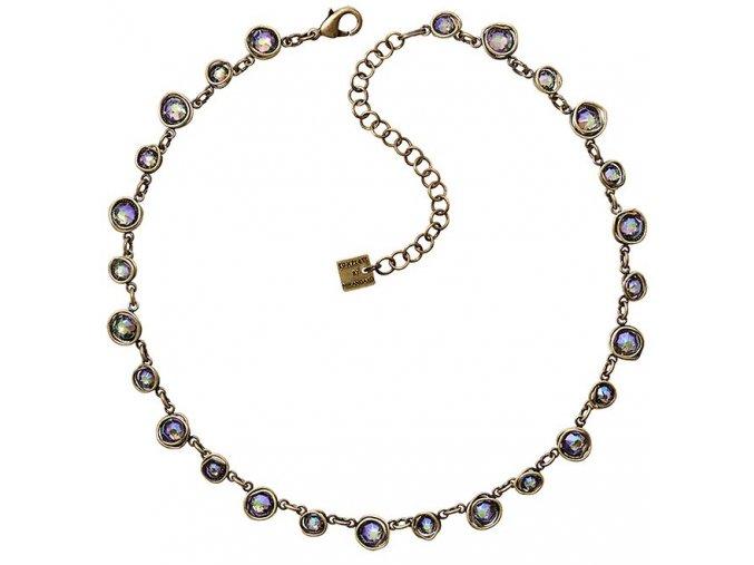 Sparkle Twist - fialová Náhrdelníky - 5450543251868