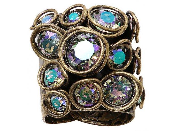 Sparkle Twist - fialová Prsteny - 5450543251967
