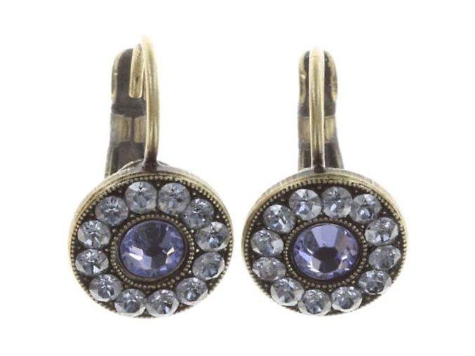 Spell on You - modrá/fialová Náušnice > Klasickézapínání - 5450543257211