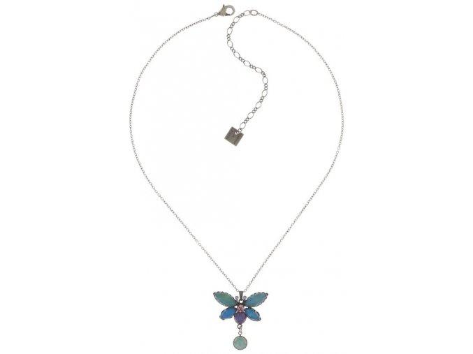 Fly Butterfly - multi/více barev Náhrdelníky - 5450543260235