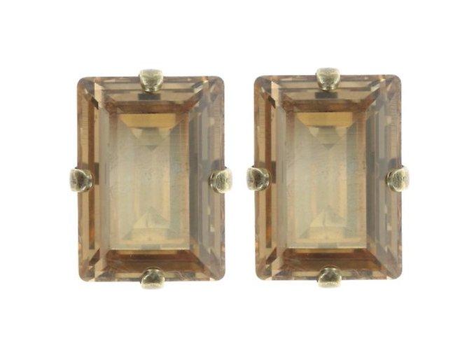 Art Deco Oriental - béžová Náušnice > Puzety - 5450543278544