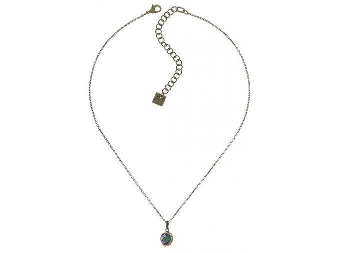 Sparkle Twist - modrá/zelená Náhrdelníky - 5450543334141