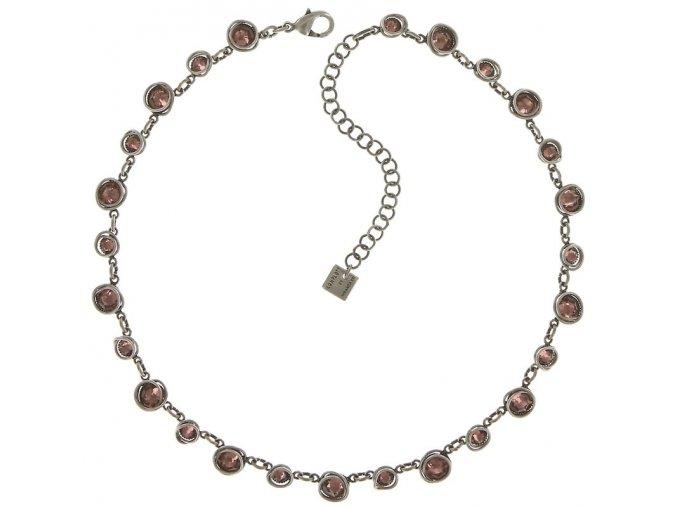 Sparkle Twist - růžová Náhrdelníky - 5450543340135