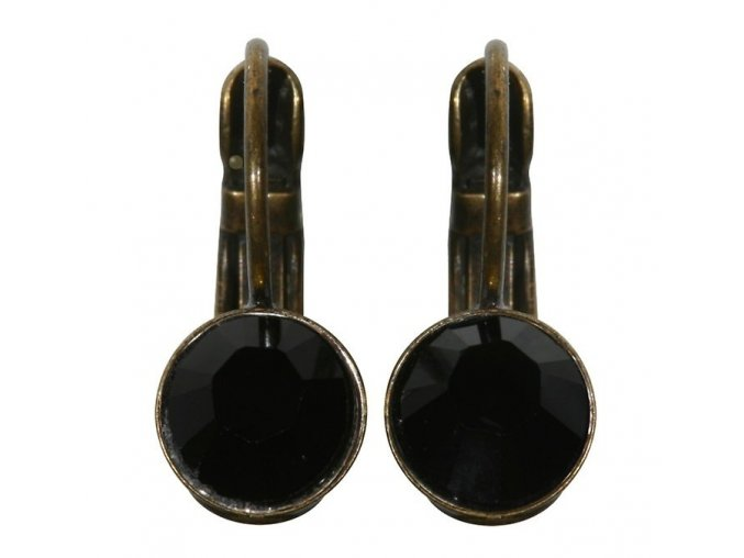 Black Jack - černá Náušnice > Klasickézapínání - 5450527119238