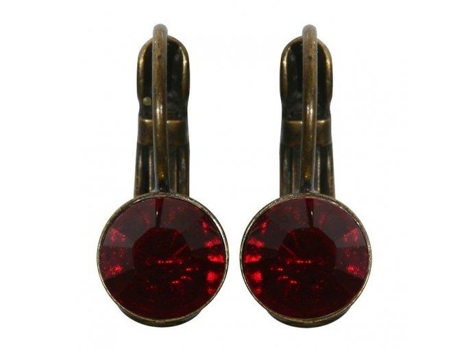 Black Jack - červená Náušnice > Klasickézapínání - 5450527122092