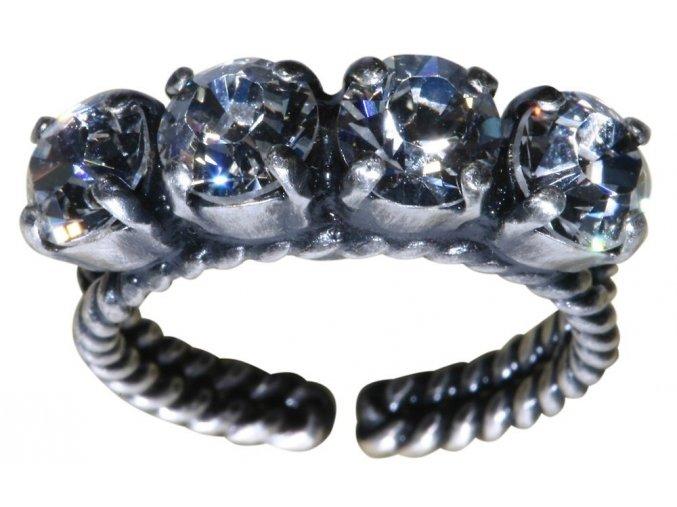 Colour Snake - bílá Prsteny - 5450527129084