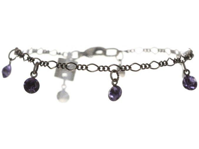 Tutui Collection - fialová Náramky > Klasické - 5450527274241