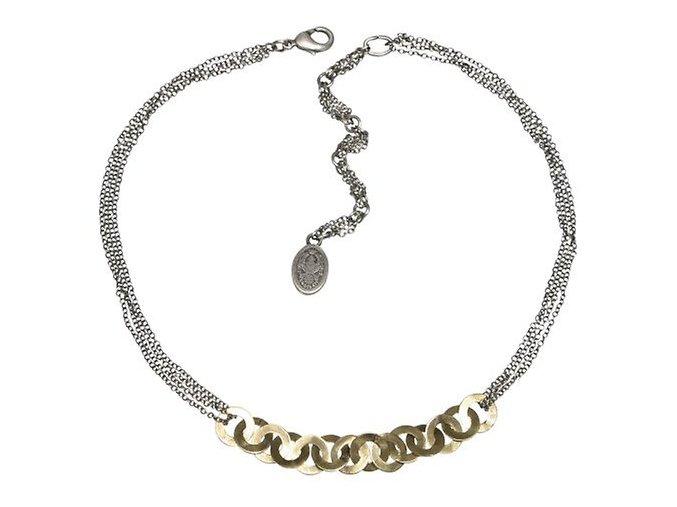 Chain Factor - hnědá Náhrdelníky - 5450527446495