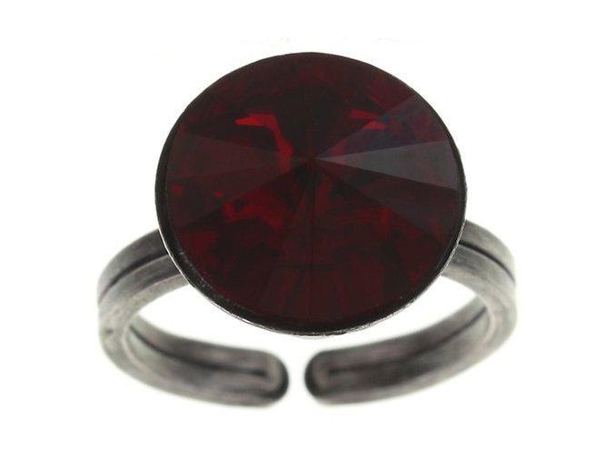 Rivoli - červená Prsteny - 5450527495424