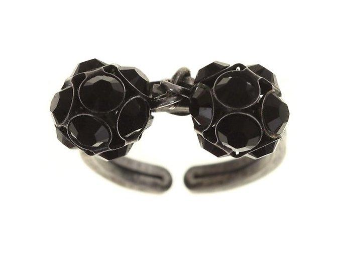 Disco Balls - černá Prsteny - 5450527598576
