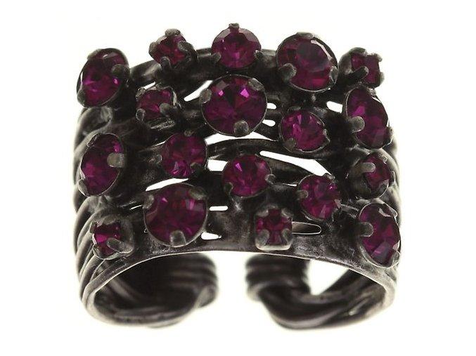 Cages - růžová Prsteny - 5450527611169