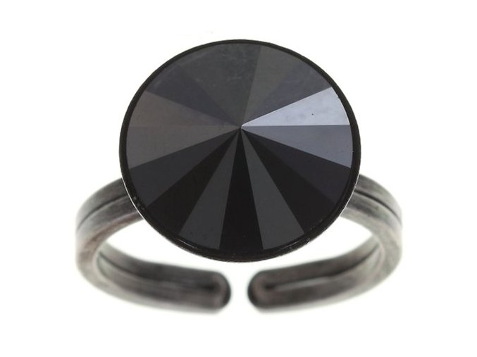 Rivoli - černá Prsteny - 5450527612791