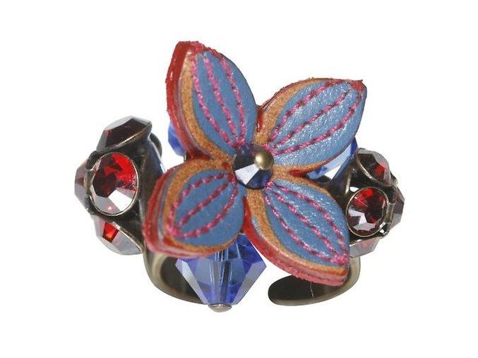 Brit Chic - červená Prsteny - 5450527638289