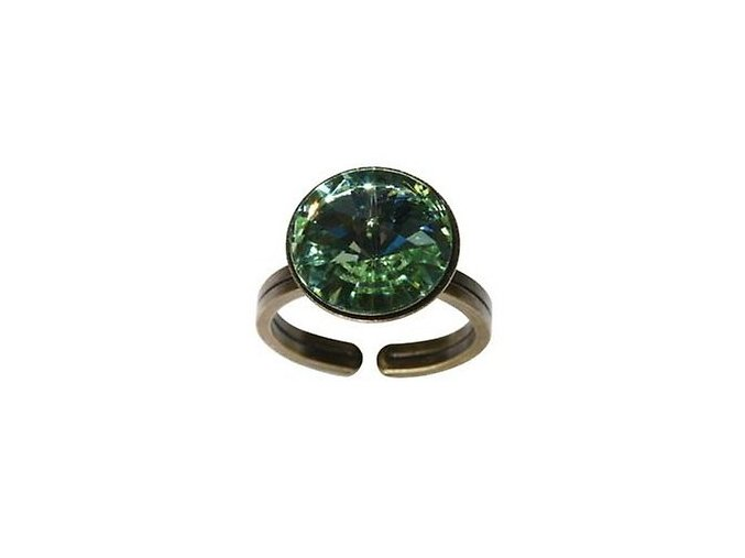 Rivoli - zelená Prsteny - 5450527640855