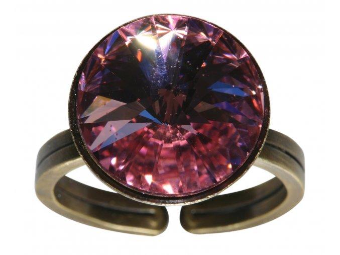 Rivoli - růžová Prsteny - 5450527640886