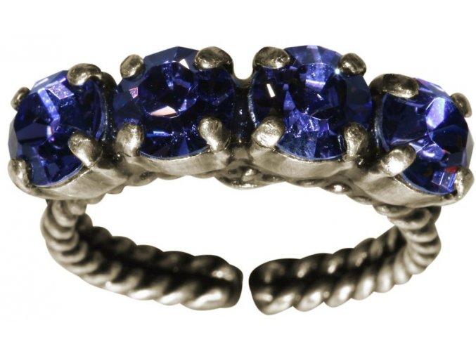 Colour Snake - fialová Prsteny - 5450527640923