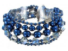 MyRouge - modrá Náramky > Elastické - 5450527890960