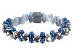 MyRouge - modrá Náramky > Elastické - 5450527891974