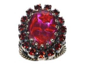 Chinoiserie - červená Prsteny - 5450527895712