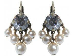 Tie The Pearl - bílá Náušnice > Klasickézapínání - 5450527955560