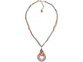 Paisley African - multi/více barev Náhrdelníky - 5450527978217