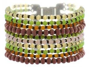 Paisley African - multi/více barev Náramky > Klasické - 5450527978231