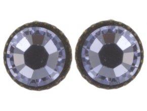 Black Jack - fialová Náušnice > Puzety - 5450527980777