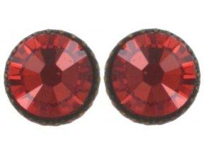 Black Jack - červená Náušnice > Puzety - 5450527980845