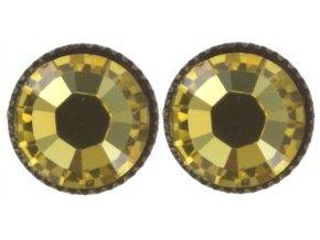 Black Jack - žlutá Náušnice > Puzety - 5450527980913