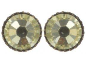 Black Jack - žlutá Náušnice > Puzety - 5450527980920