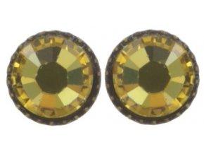 Black Jack - žlutá Náušnice > Puzety - 5450527980937