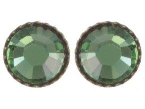 Black Jack - modrá/zelená Náušnice > Puzety - 5450527982276