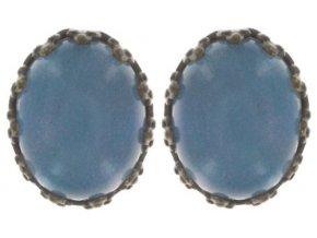 Orchid Hybrid - modrá Náušnice > Puzety - 5450527989541