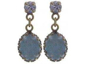 Orchid Hybrid - modrá Náušnice > Puzety - 5450527989619