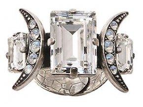 Art Deco Oriental - bílá Prsteny - 5450543025292