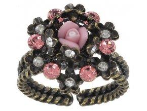 Revival of Icing Flower - růžová Prsteny - 5450543031231