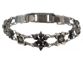 Mille Fleurs - černá Náramky > Klasické - 5450543035536