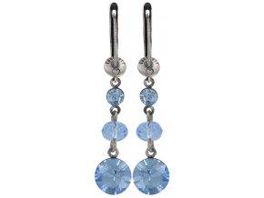 Dangling Tutui - modrá Náušnice > Francouzské zapínaní - 5450543038582