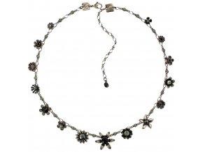 Mille Fleurs - černá Náhrdelníky - 5450543046563