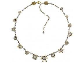 Mille Fleurs - bílá Náhrdelníky - 5450543046594
