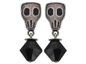 Gothic - černá Náušnice > Puzety - 5450543064819