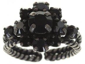 Carre - černá Prsteny - 5450543073859