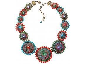Maharani - multi/více barev Náhrdelníky - 5450543076195