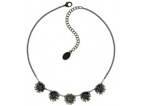 Chrysanthemum - bílá Náhrdelníky - 5450543078458