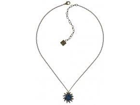 Chrysanthemum - modrá Náhrdelníky - 5450543078519