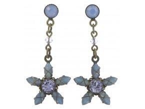 Marguerite - modrá Náušnice > Puzety - 5450543082097