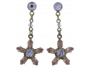 Marguerite - fialová Náušnice > Puzety - 5450543082394