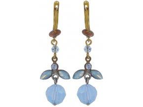 Marguerite - modrá Náušnice > Francouzské zapínaní - 5450543082868